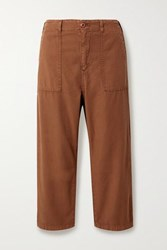The Great Ranger Cotton Canvas Cargo Pants Brown