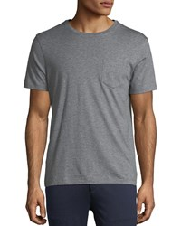 Ralph Lauren Heathered Pocket T Shirt Gray
