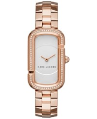 Marc Jacobs By Women's The Rose Gold Tone Stainless Steel Bracelet Watch 20X31mm Mj3533