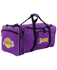 Concept One Los Angeles Lakers Steal Duffel Bag Black