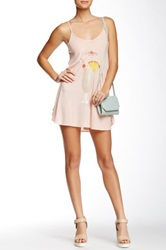 Wildfox Couture Island Breakfast Slip Dress Pink