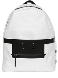 Maison Martin Margiela Leave A Message Techno Paper Backpack