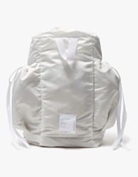 Satisfy Bombardier Gym Bag In White
