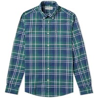 Barbour Highland Check Shirt Green