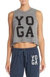 Women's Spiritual Gangster 'Yoga' Crop Tank