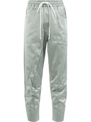 Song For The Mute Loose Track Trousers Grey