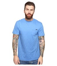 O'neill Footnote Short Sleeve Screens Impression T Shirt Heather Royal Men's T Shirt Gray