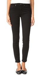 Paige Transcend Hoxton Ankle Jeans Black Shadow