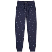 Polo Ralph Lauren All Over Pony Sleepwear Pant Blue