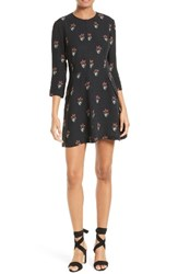 A.L.C. Women's Terry Floral Print Dress