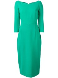 Goat 'Drew' Pencil Dress Green