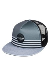 Quiksilver Vixten Trucker Hat Grey Iron Gate