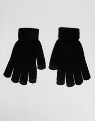 7X Touch Screen Gloves In Black