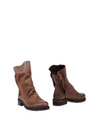 Keb Ankle Boots Dark Brown