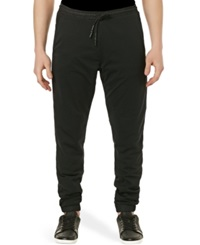Buffalo David Bitton Casper X Stretch Fleece Jogger Pants Black