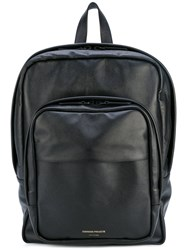 Common Projects Large Backpack Unisex Leather One Size Black