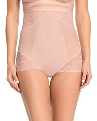 Spanx Spotlight On Lace High Waisted Brief 10121R Vintage Rose