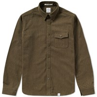 Bedwin And The Heartbreakers Rosie Overshirt Green