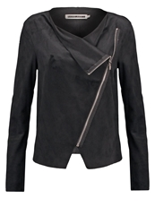 Noisy May Nmhouse Faux Leather Jacket Black