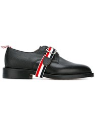 Thom Browne Strap Detail Derby Shoes Black