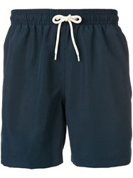 Barbour Logo 5 Swimming Shorts Blue
