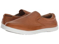 Deer Stags Harrison Tan Simulated Leather Slip On Shoes Brown