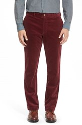 Men's Vineyard Vines Straight Leg Stretch Corduroy Pants Crimson