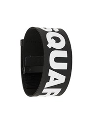 Dsquared2 Logo Bracelet Black