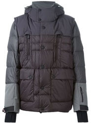 Moncler Grenoble Padded Jacket Pink And Purple