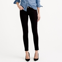 J.Crew Tall Toothpick Jean In Black