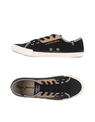 Pepe Jeans Footwear Low Tops And Trainers Men Black