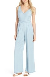 Cupcakes And Cashmere Women's Deven Chambray Jumpsuit