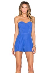 Parker Sutton Romper Blue