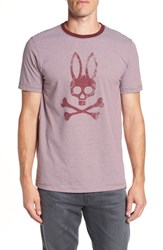 Psycho Bunny Stripe Logo Graphic T Shirt Port