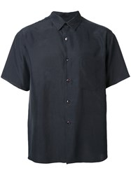 H Beauty And Youth Short Sleeved Shirt Black