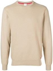 Peuterey Round Neck Jumper Neutrals