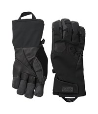 Outdoor Research Extravert Gloves Black Charcoal Extreme Cold Weather Gloves