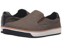 Mark Nason Daleside Chocolate Canvas Men's Slip On Shoes Brown