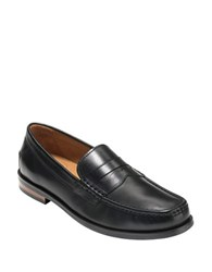 Cole Haan Pinch Friday Leather Moccasins Black