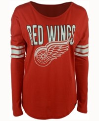 47 Brand '47 Women's Detroit Red Wings Courtside Long Sleeve T Shirt