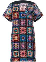 Sacai Crochet Quilt Dress