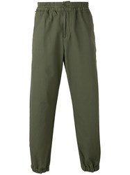 Carhartt Cropped Track Pants Green
