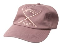 Billabong Surf Club Hat Washed Plum Baseball Caps Red