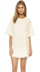 Blaque Label Dress With Tassels White