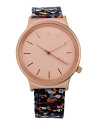Komono Wrist Watches Light Pink