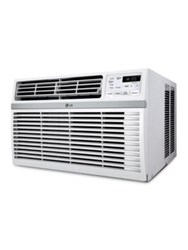 Lg Electronics 12000 Btu 115V Window Mounted Air Conditioner With Remote Control White