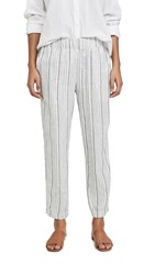 9Seed Coconut Grove Yacht Pants Metallic Cotton