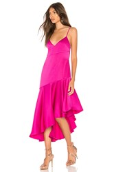 Misha Collection Madelyn Dress Fuchsia