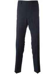 Kenzo Straight Cut Trousers Blue