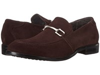 Stacy Adams Gulliver Brown Suede Men's Lace Up Moc Toe Shoes